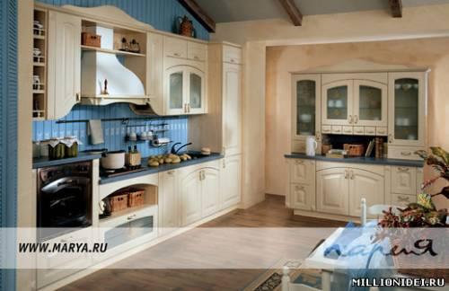 Фото кухни производитель кухни мария