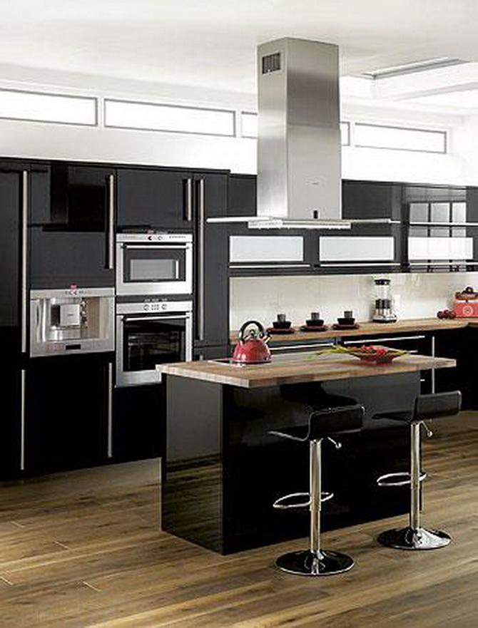 Чем хороша черная кухня