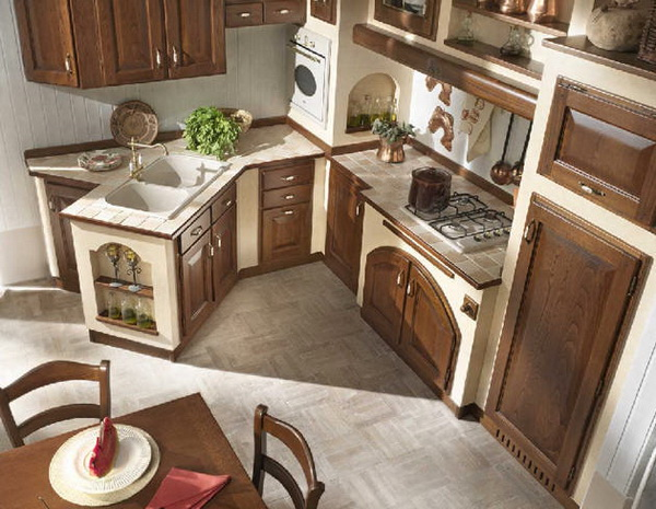 Идеи дизайна кухни в частном доме фото