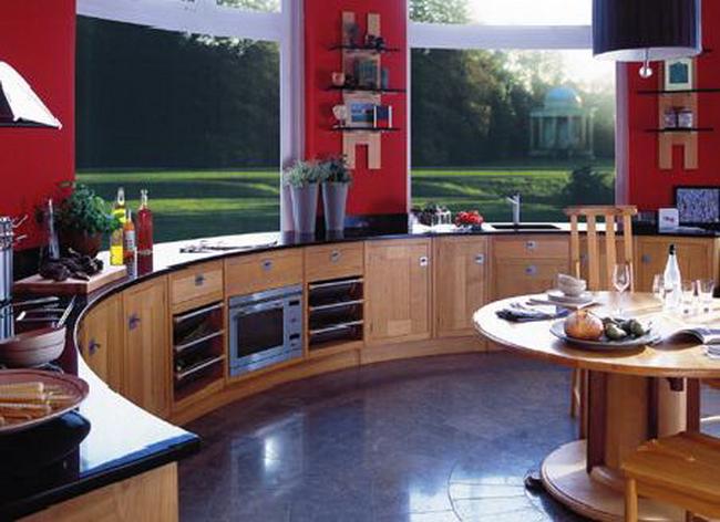 Кухни интерьер нестандартные фото