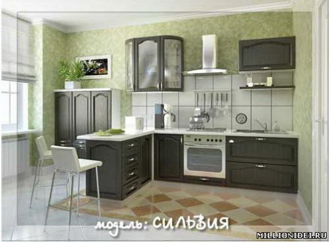 Дизайн кухни в домах серии п-111м