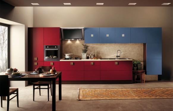 Современные итальянские кухни Скаволини