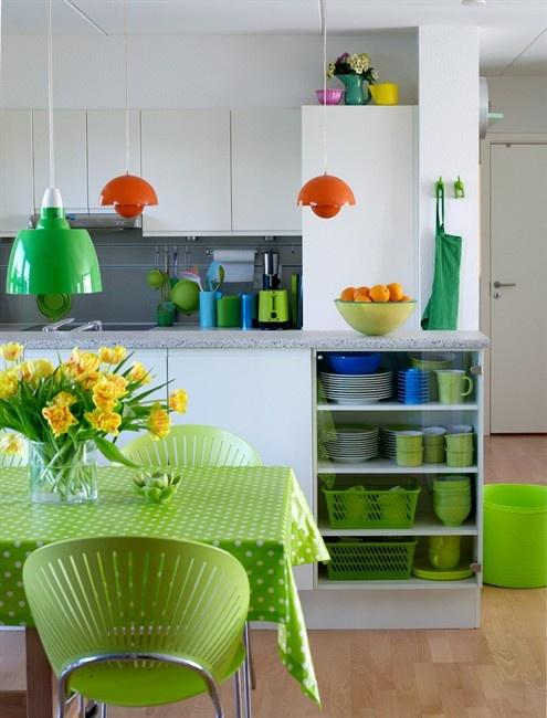 Весенние идеи для обновления кухни