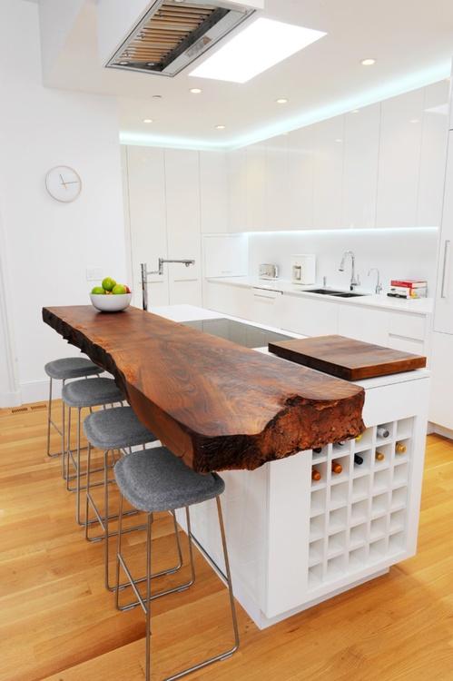 Необычные столешницы для кухни